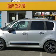 """Jante Dezent TZ black/poli 16"""" sur Citroën C3 Picasso"""
