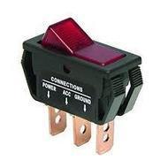 interrupteur rectangulaire avec voyant lumineux à encastrer