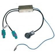 adaptateur d'antenne double avec amplificateur