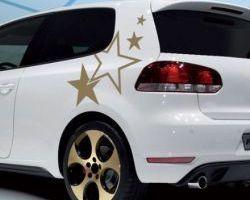 STICKER CARROSSERIE DESIGN STARS